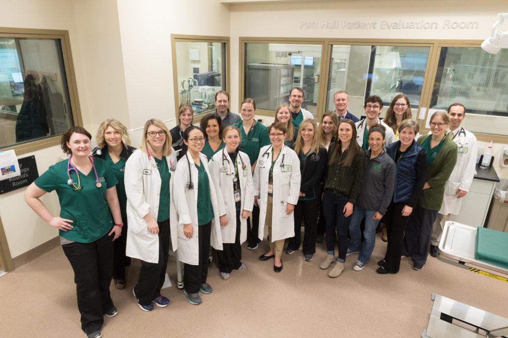 Flint Animal Cancer Center Clinic Team