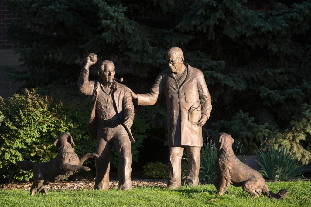 Stuart Family Statues